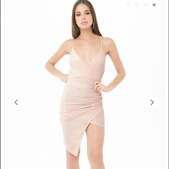 Forever 21 Dresses & Skirts - F21 Pink Sparkly Dress